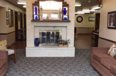 Wedgewood Gardens Assisted Living Visiting Area