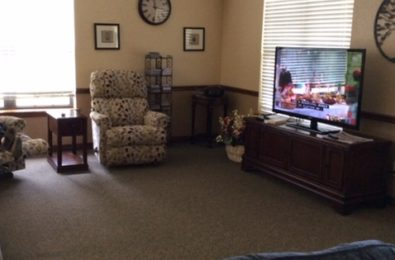 Wedgewood Gardens Assisted Living Living Area